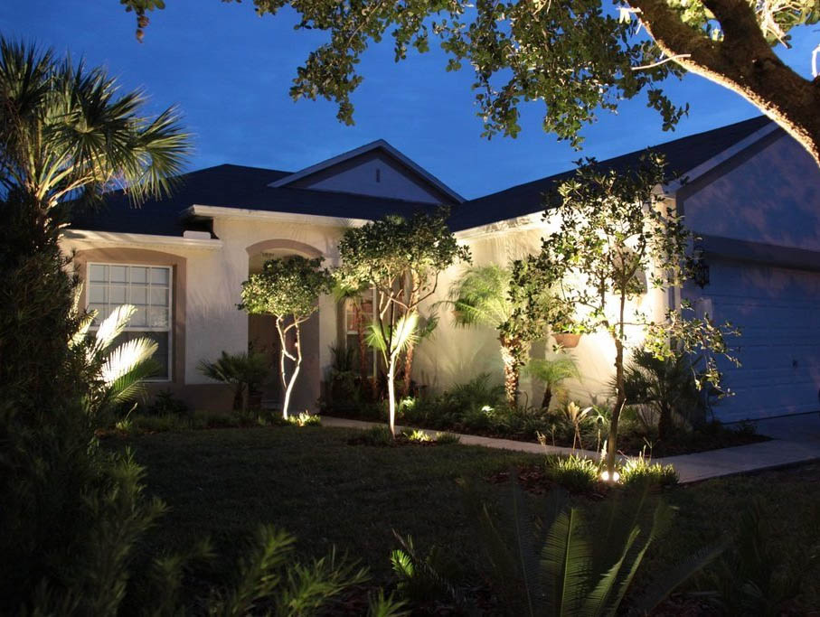 Landscape Lighting Melbourne Florida
